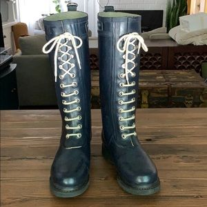 Ilse Jacobsen Rain Boot Navy Blue